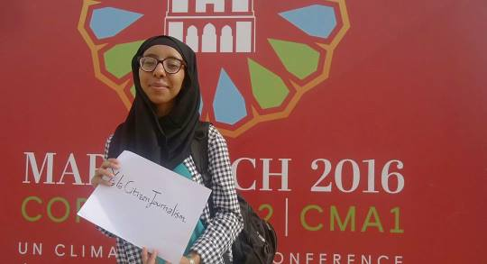 My best moments at COP22 | Oumaima Fathi,Morocco