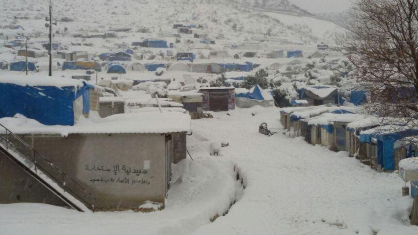 Badama Camp by Kaman Thawra, Syria – photo essay–