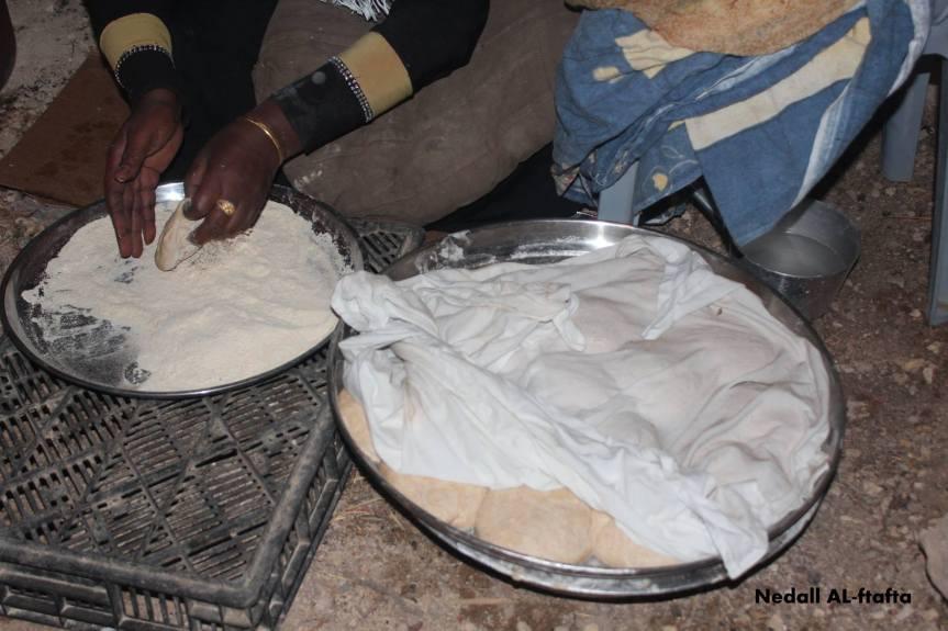Alsherak Bread by Nedall, Palestine – photo essay–