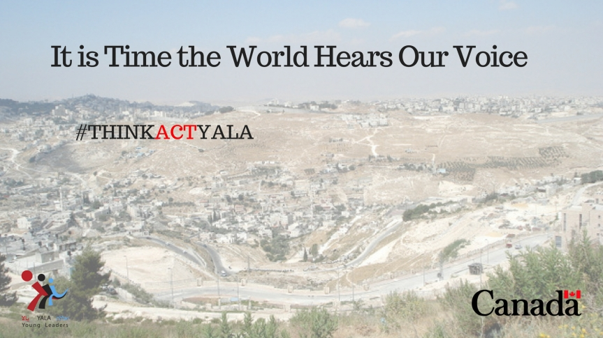 It is Time that the World Hears Our Voice by Nasim Al Huribat,Palestine