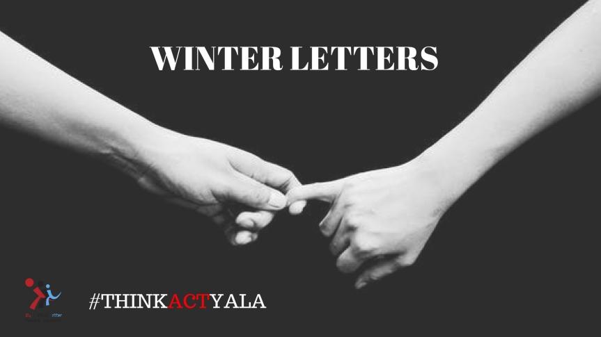 Winter Letters by Marina Klimchuk,Israel