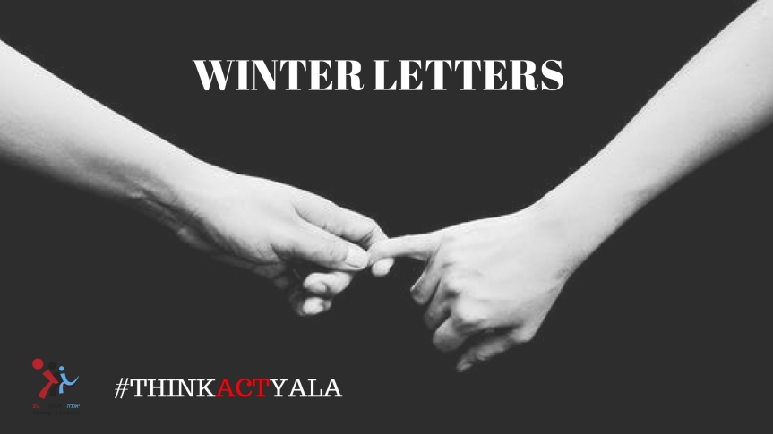 Winter Letters by Marina Klimchuk, Israel