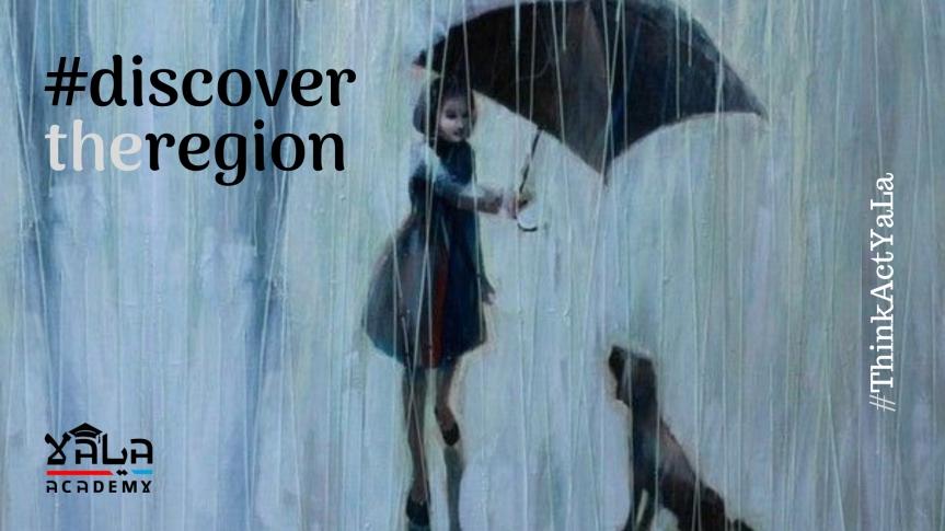 When Sky Rains Solidarity by Celia Ait Ouali,Algeria