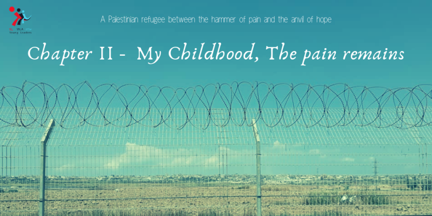 Chapter II –  My Childhood, The painremains