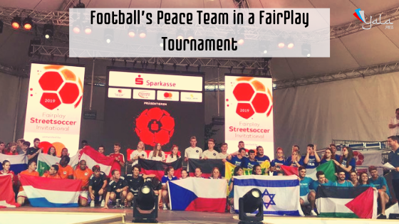 Football's Peace Team in a FairPlay Tournament